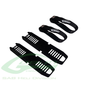 엑스캅터 - H0252-S - Carbon Fiber Battery Tray - Goblin 500