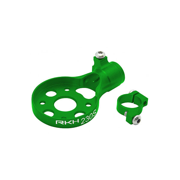 엑스캅터 - 라콘헬리 CNC AL Tail Motor Mount Set (Green) - Blade 230 S 옵션