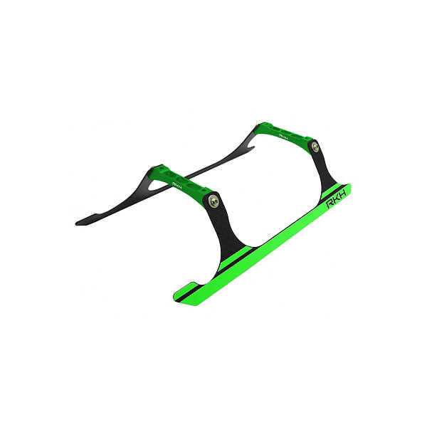 엑스캅터 - 라콘헬리 CNC Landing Gear Set (Black-Green) - Blade 230 S 옵션