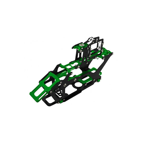 엑스캅터 - 라콘헬리 CNC AL and CF Main Frame Set (Green) - Blade 230 S 옵션
