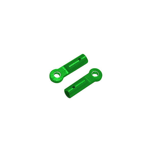 엑스캅터 - 라콘헬리 CNC AL Tail Boom Support End (Green) - Blade 230 S 옵션