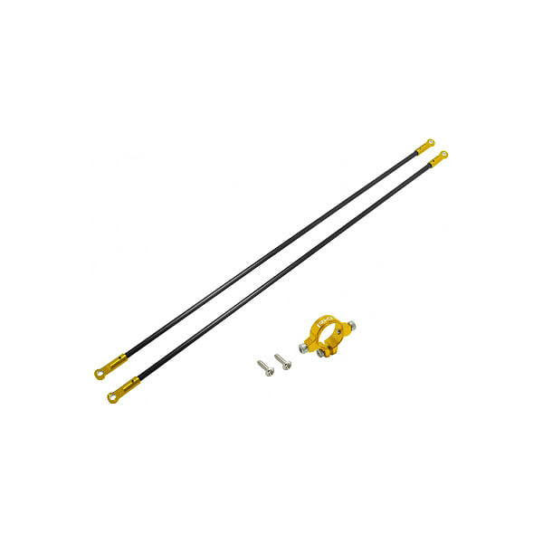 엑스캅터 - 라콘헬리 CNC AL Tail Boom Support Set (Gold) - Blade 230 S 옵션